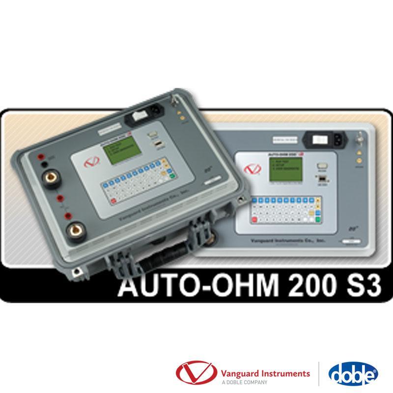 Máy đo điện trở tiếp xúc Model AUTO-OHM 200 S3