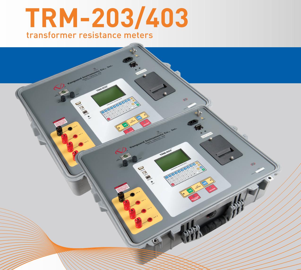Máy đo điện trở tiếp xúc Model TRM-203