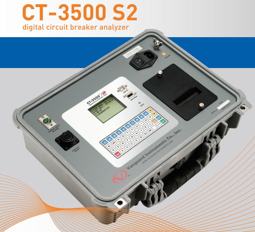 Thiết bị phân tích máy cắt CT-3500 S2