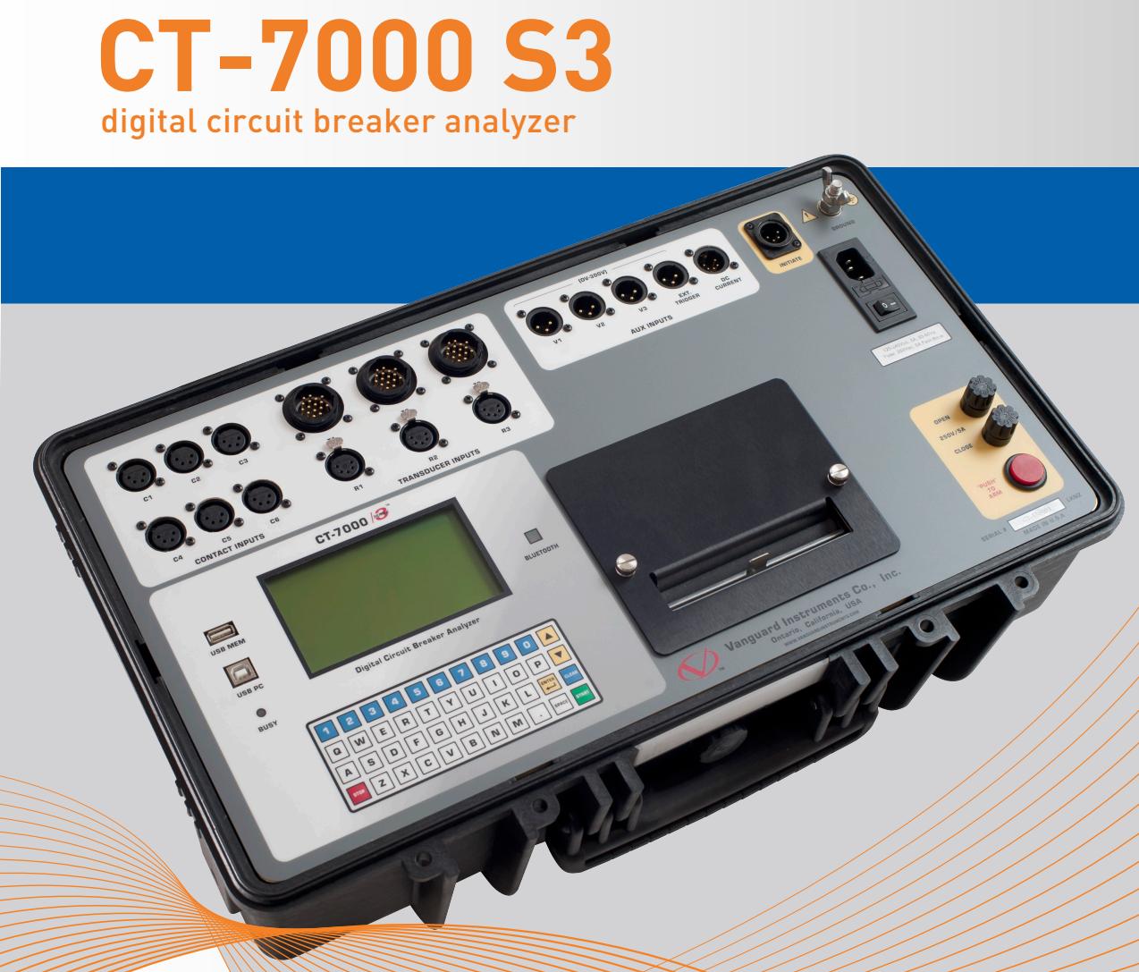 Thiết bị phân tích máy cắt CT-7000 S3