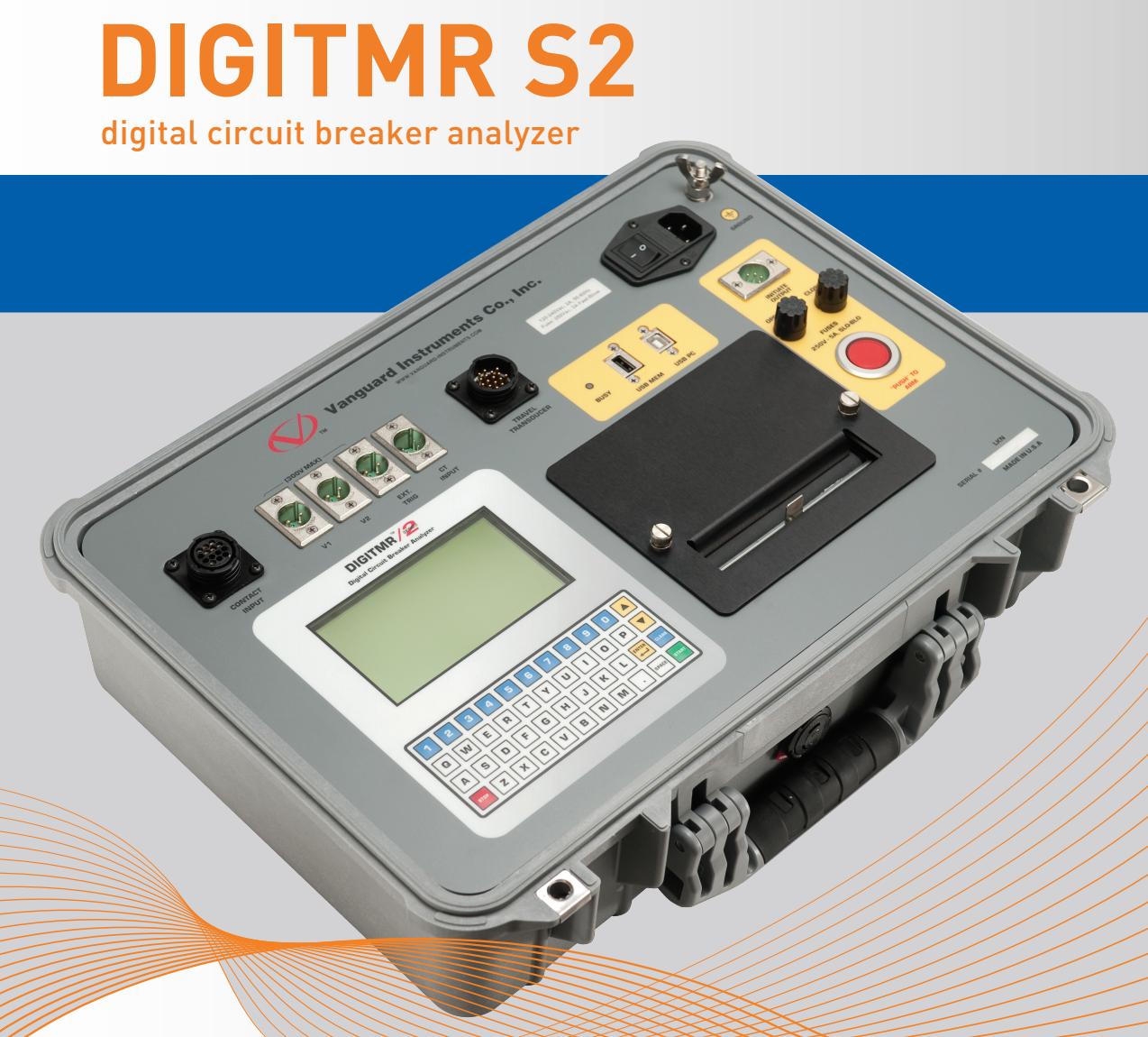 Thiết bị phân tích máy cắt DigiTMR S2